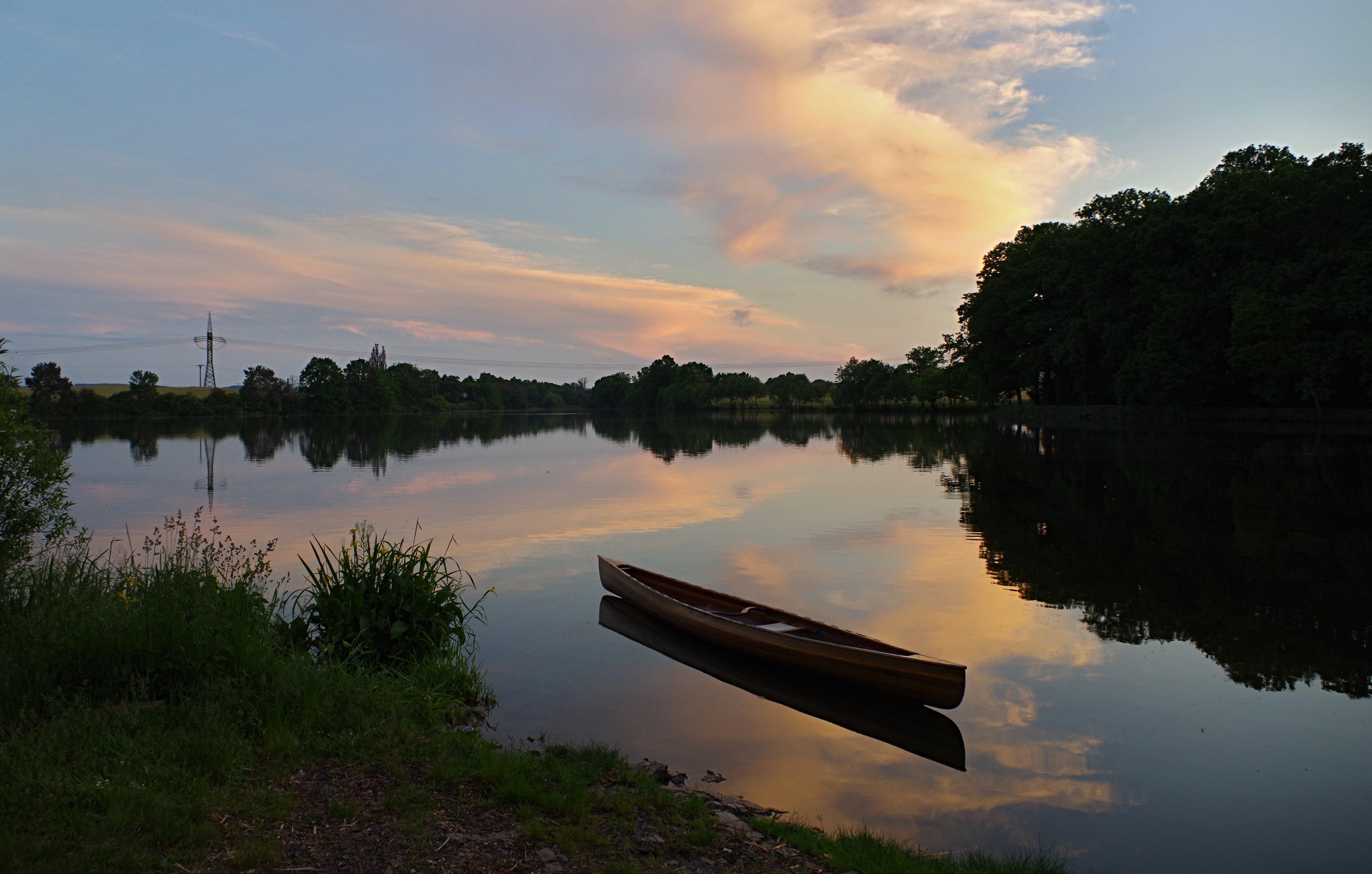 Cedrová kanoe