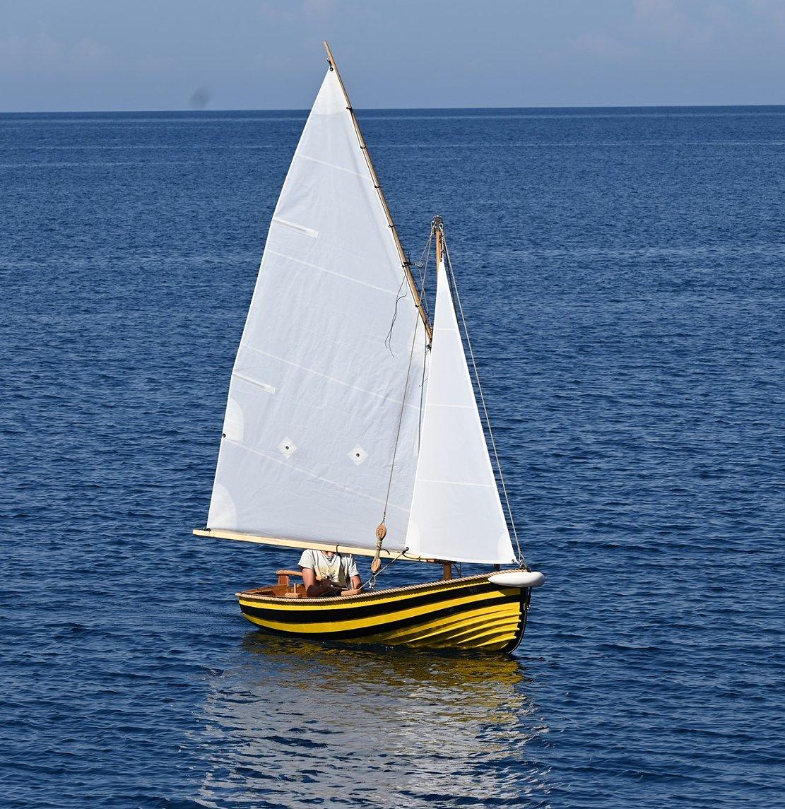 clinker dinghy plachetnice