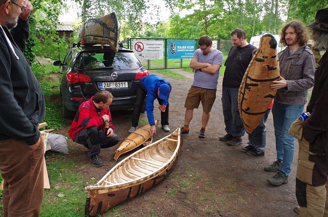 Březová kanoe