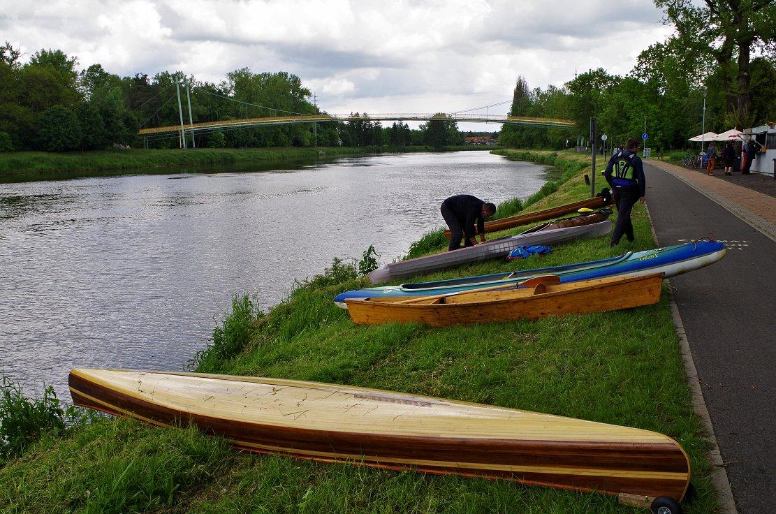 Labe dřevěné lodě