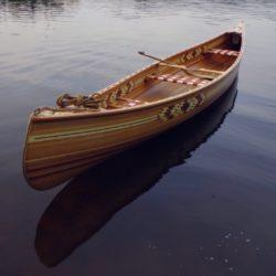 Dřevěná cedrová kanoe Prospector